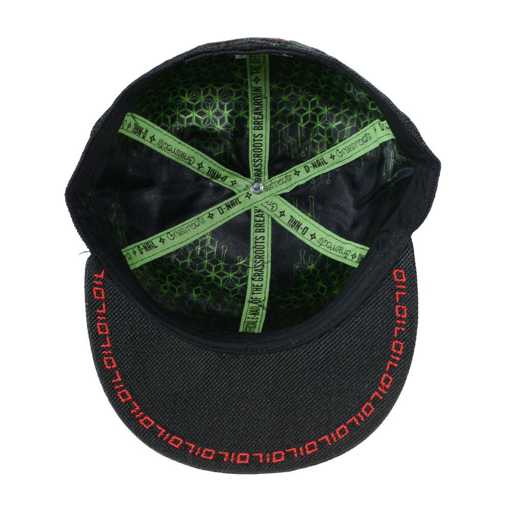DNail Black Fitted - Grassroots California - 5
