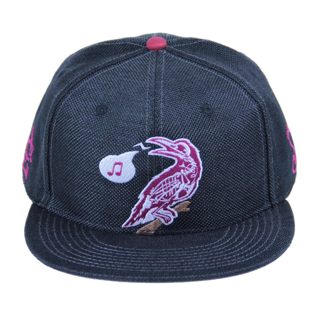 Eligh Black Snapback - Grassroots California - 1