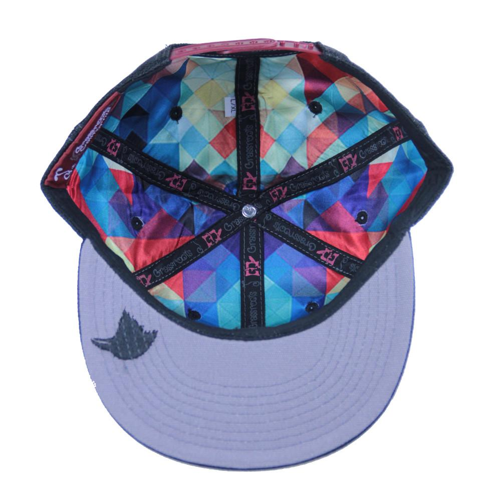Eligh Black Snapback - Grassroots California - 2