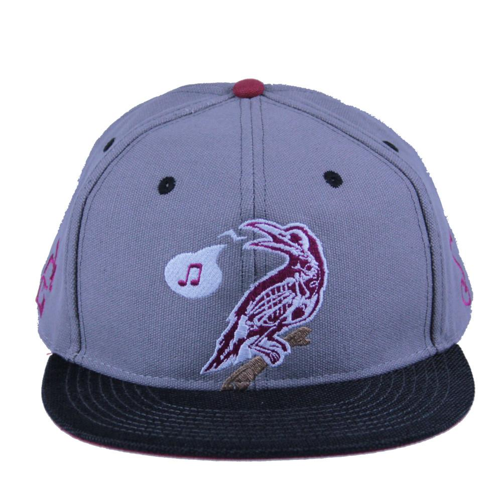 Eligh Gray Snapback - Grassroots California - 1