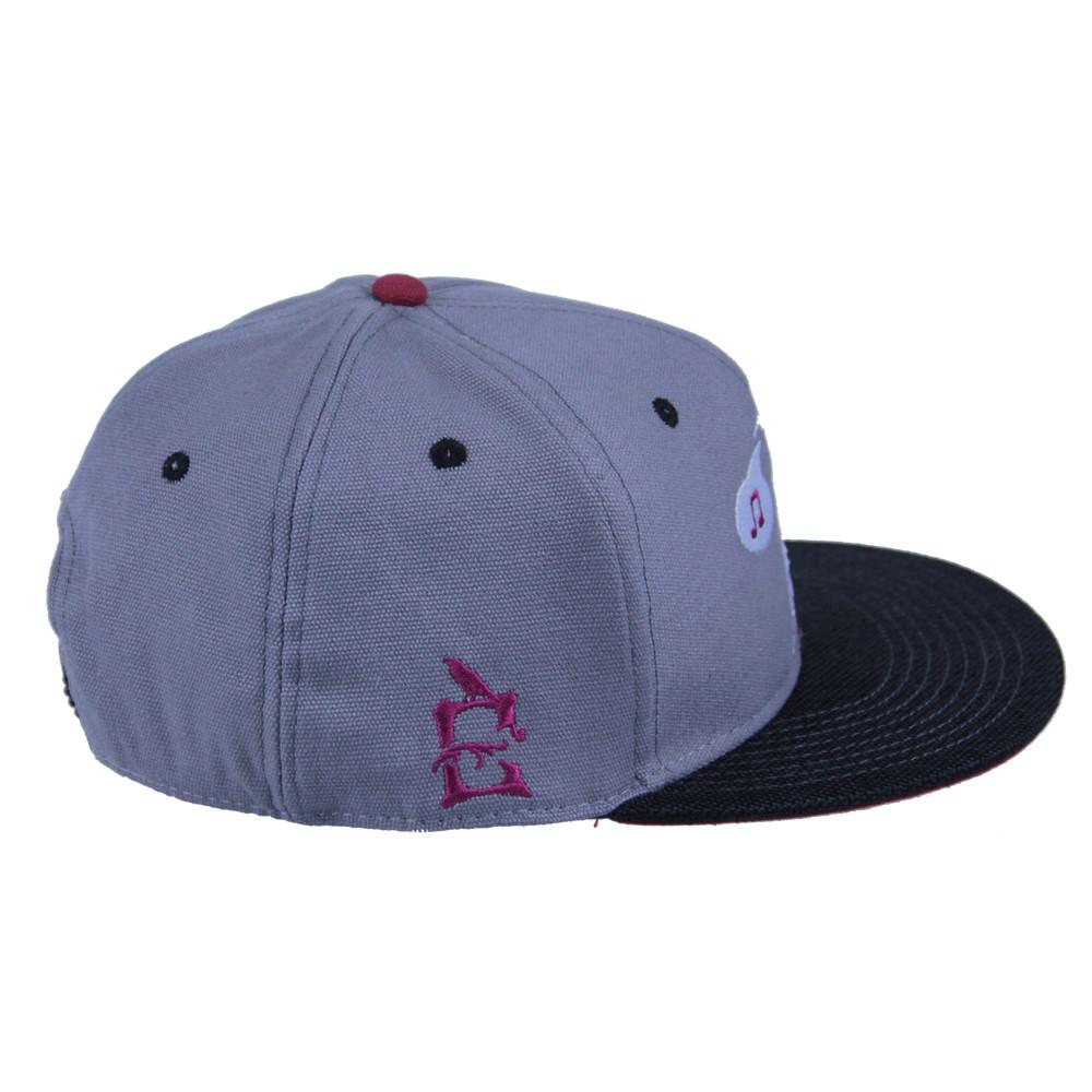 Eligh Gray Snapback - Grassroots California - 3