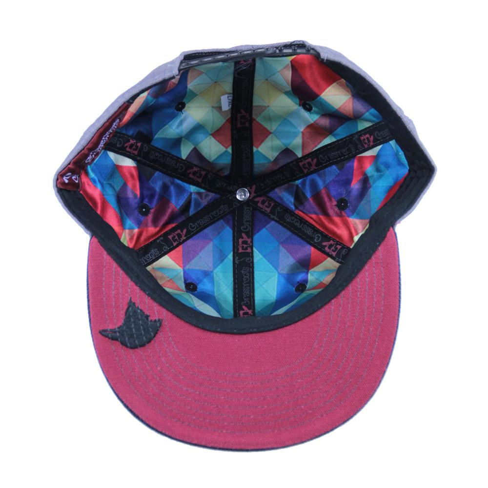Eligh Gray Snapback - Grassroots California - 2