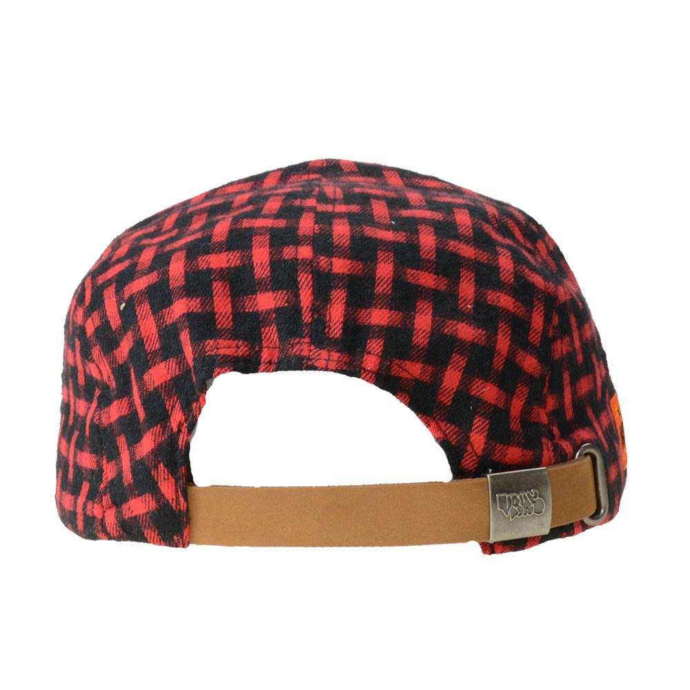 Voorhees Flannel 5 Panel Snapback - Grassroots California - 4