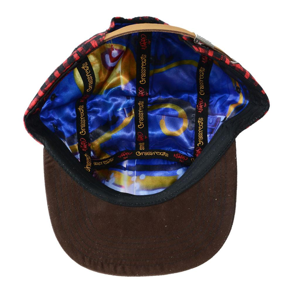 Voorhees Flannel 5 Panel Snapback - Grassroots California - 5