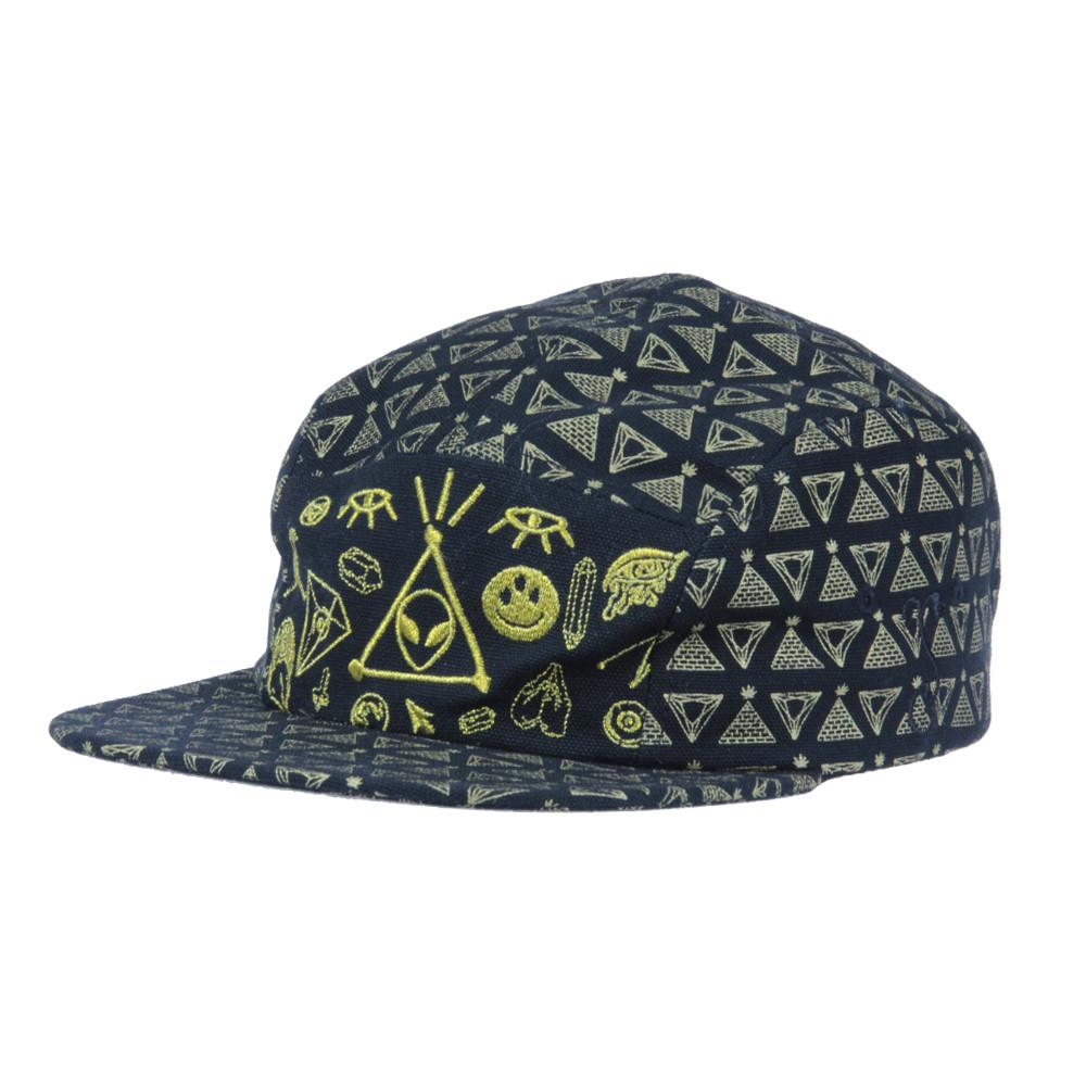 Space Jesus 5 Panel Strapback