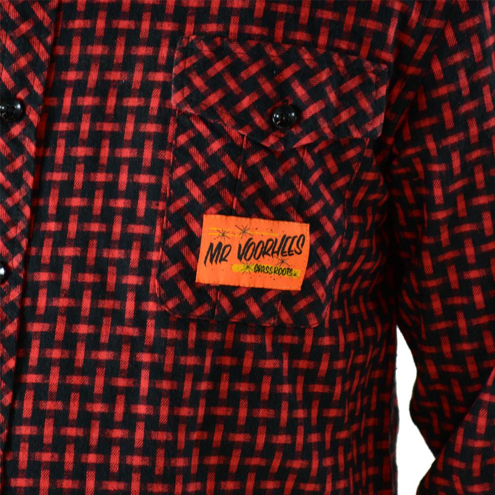 Voorhees Red Flannel - Grassroots California - 5