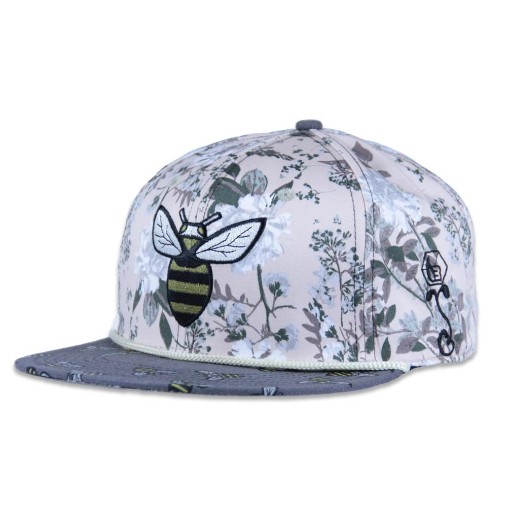 Bee line Floral Snapback - Grassroots California - 1