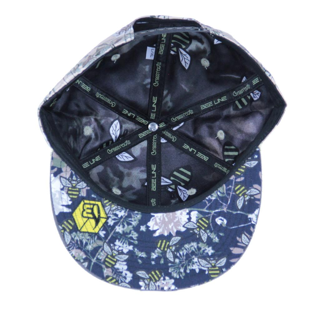 Bee line Floral Snapback - Grassroots California - 2