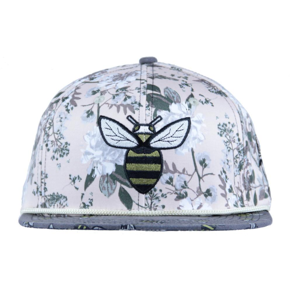 Bee line Floral Snapback - Grassroots California - 3