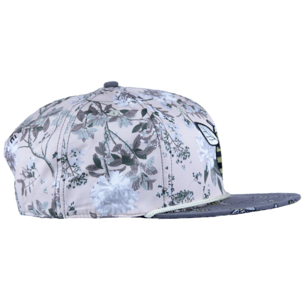 Bee line Floral Snapback - Grassroots California - 4