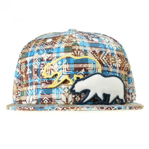 Removable Bear Holiday Snapback - Grassroots California - 2