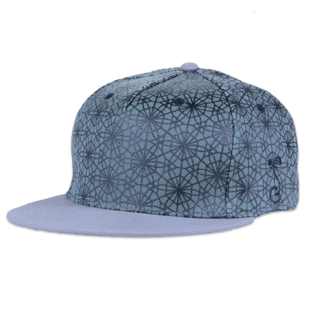 Corey Divine Geodesic Gray Snapback - Grassroots California - 1