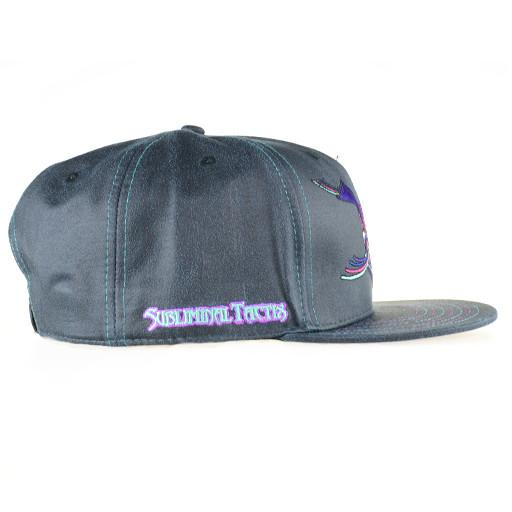 Subliminal Tactix Space Funk Black Snapback - Grassroots California - 2