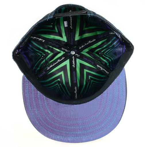 Subliminal Tactix Space Funk Black Snapback - Grassroots California - 5