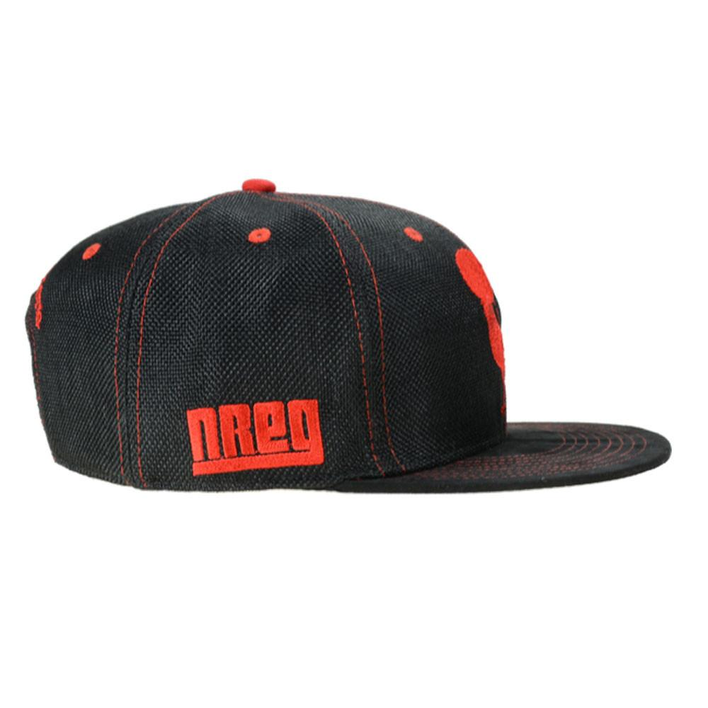Nappy Roots Black Red Snapback - Grassroots California - 2