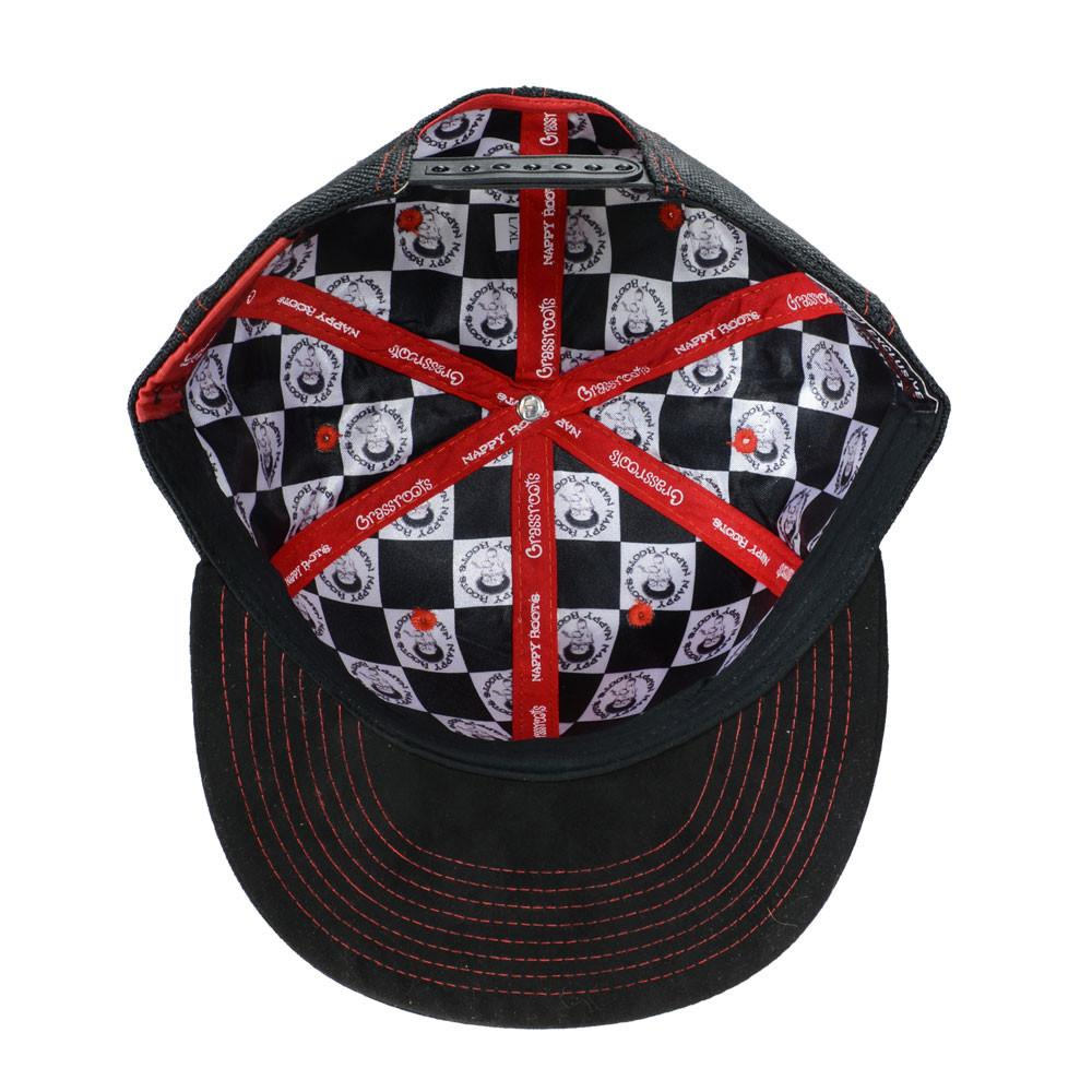 Nappy Roots Black Red Snapback - Grassroots California - 5