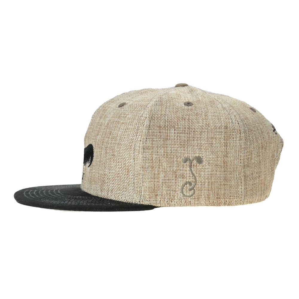 Nappy Roots Tan Snapback - Grassroots California - 3