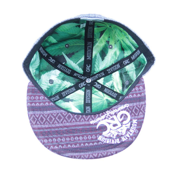 Mountain Division Colofuckinrado Gray Aztec Fitted - Grassroots California - 2