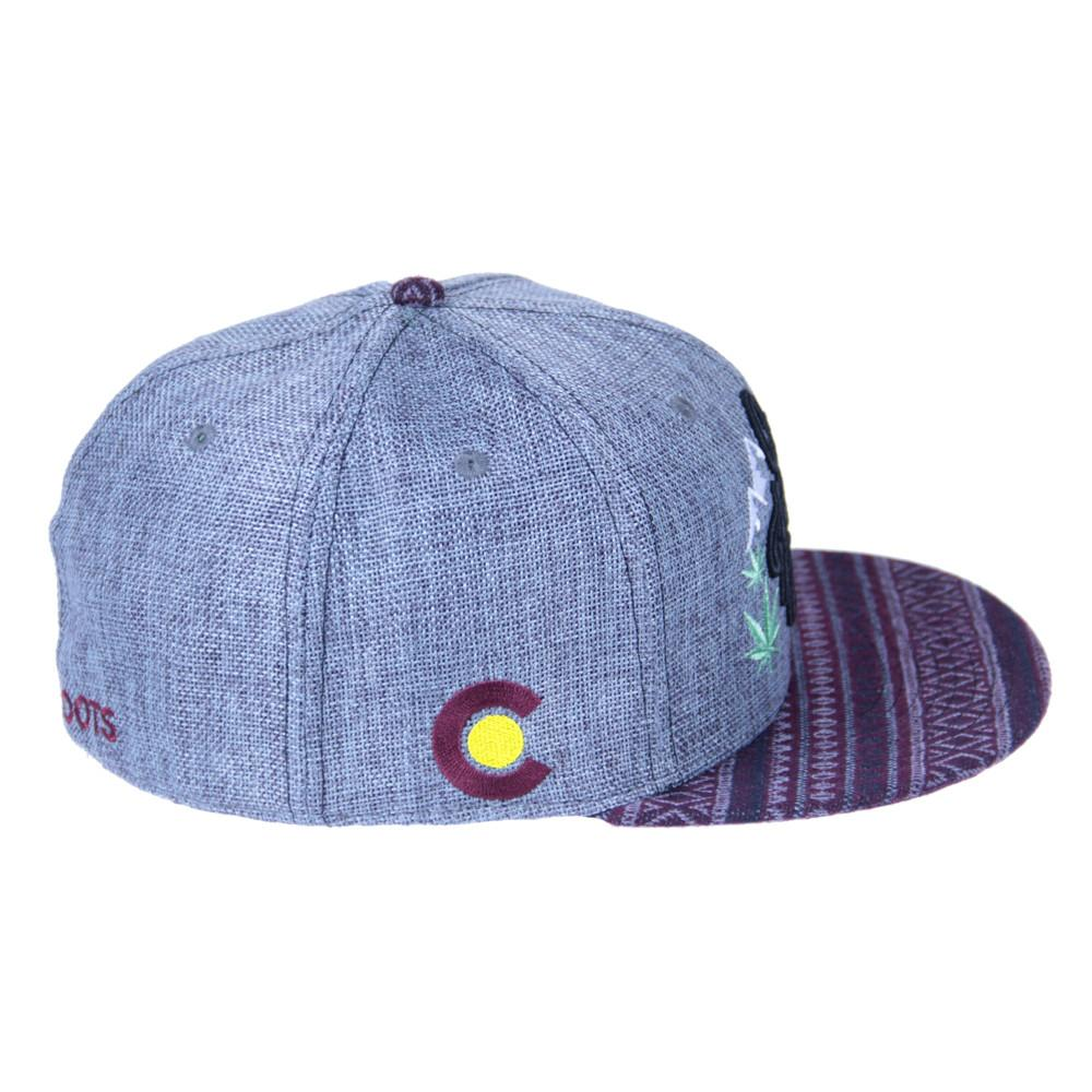 Mountain Division Colofuckinrado Gray Aztec Fitted - Grassroots California - 3