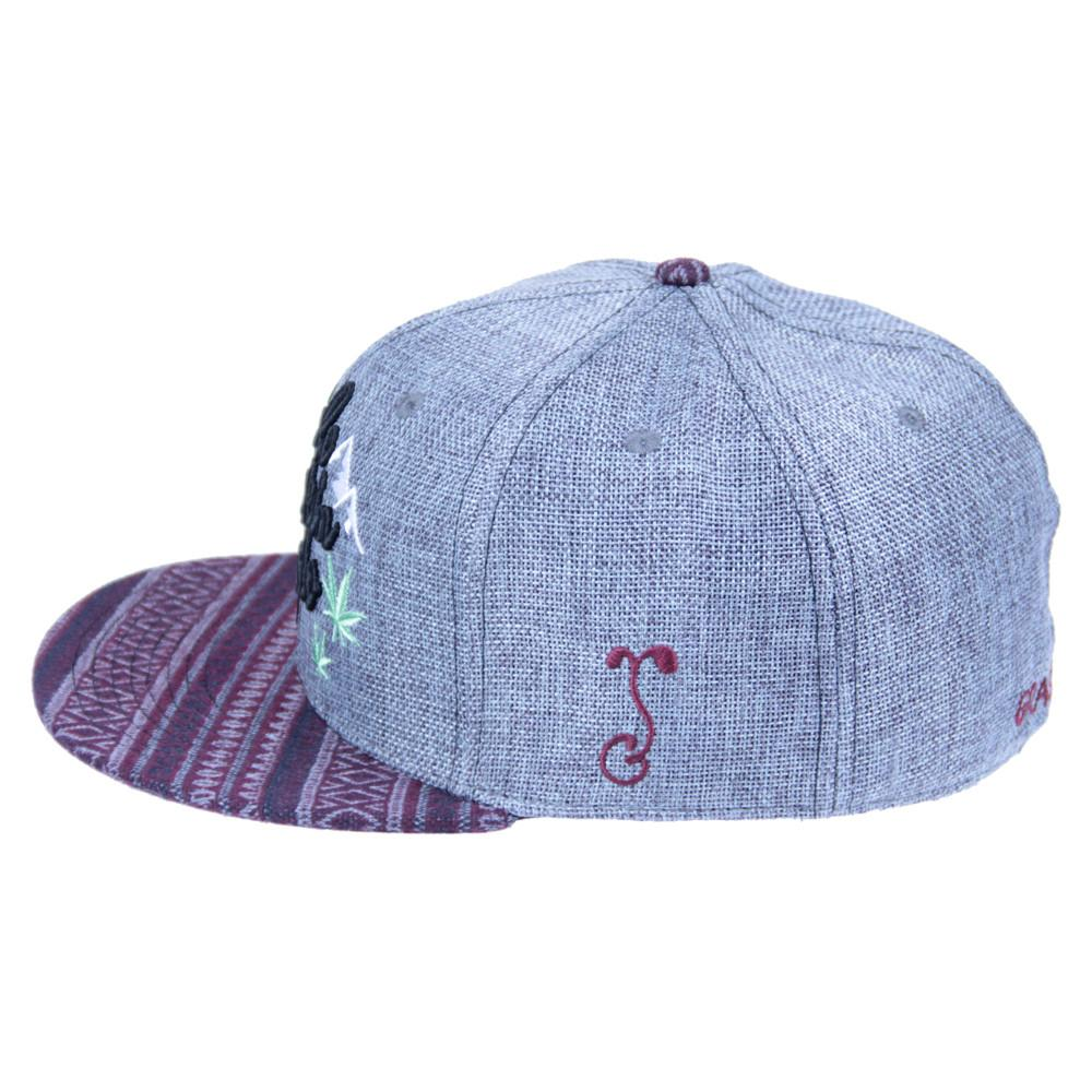 Mountain Division Colofuckinrado Gray Aztec Fitted - Grassroots California - 4