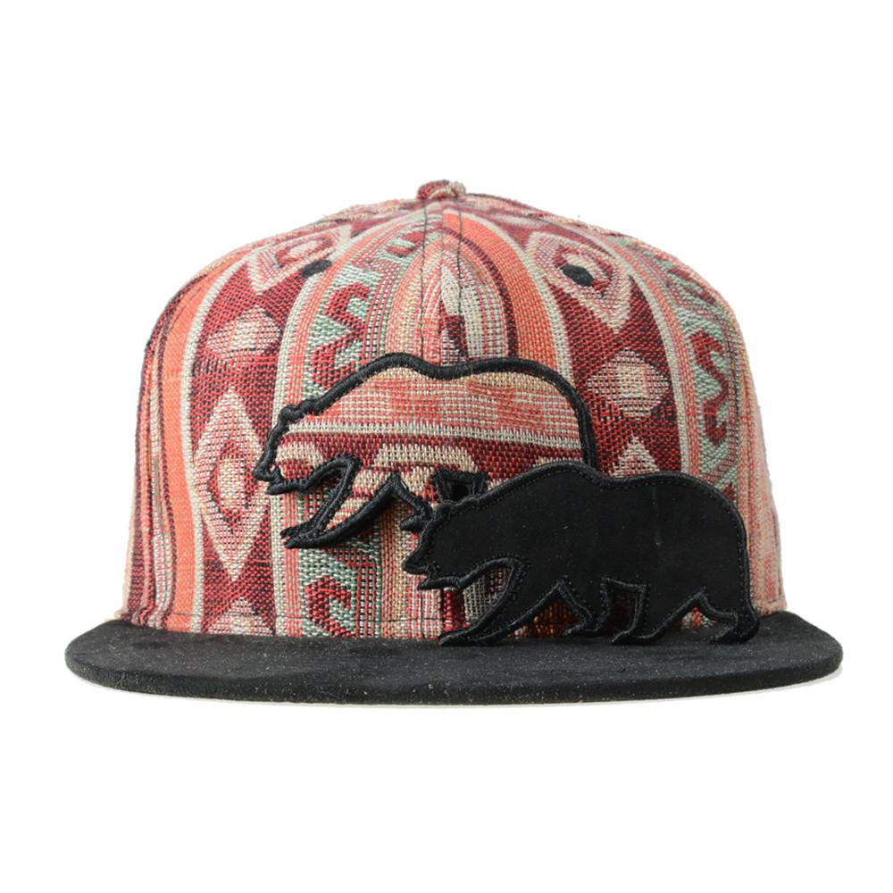 Removable Bear Mayan Andes Snapback - Grassroots California - 2