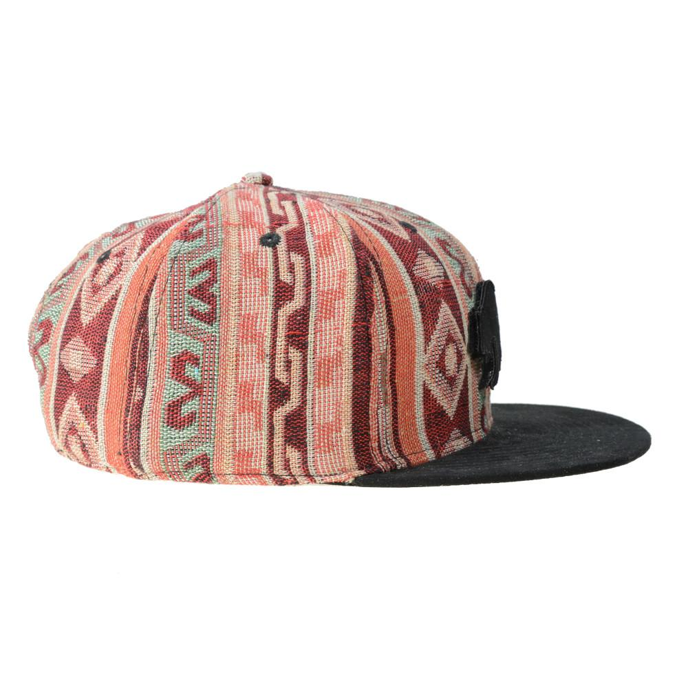 Removable Bear Mayan Andes Snapback - Grassroots California - 3