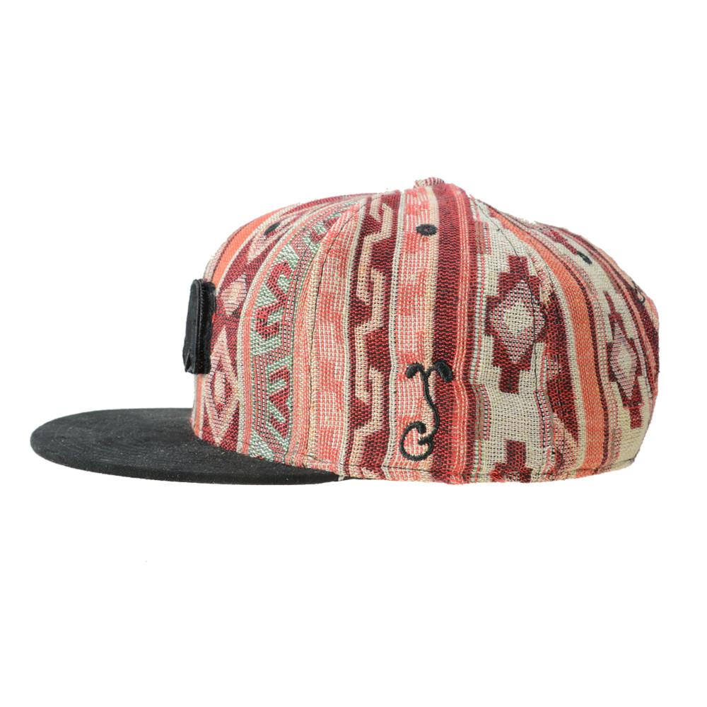 Removable Bear Mayan Andes Snapback - Grassroots California - 4