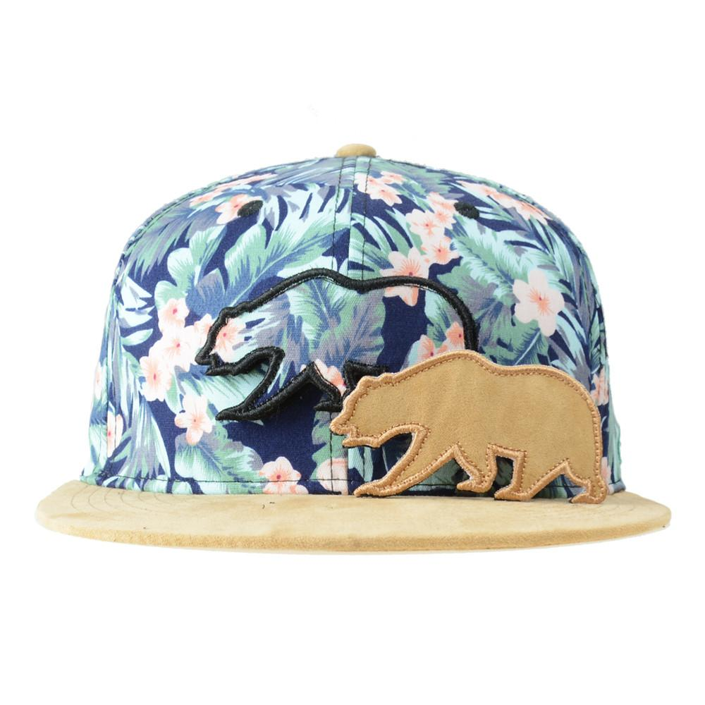 Removable Bear Water Flower Strapback - Grassroots California - 2