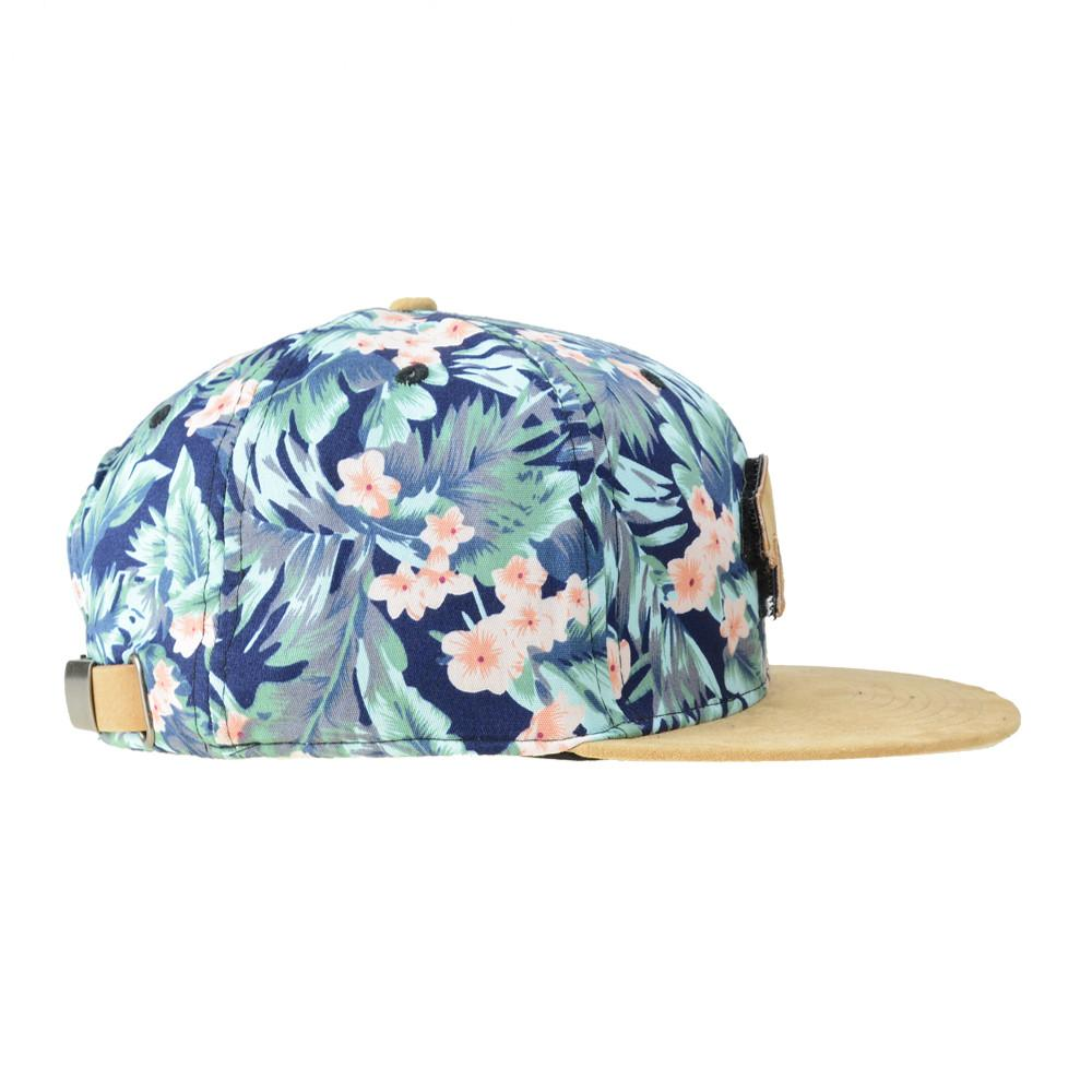 Removable Bear Water Flower Strapback - Grassroots California - 3