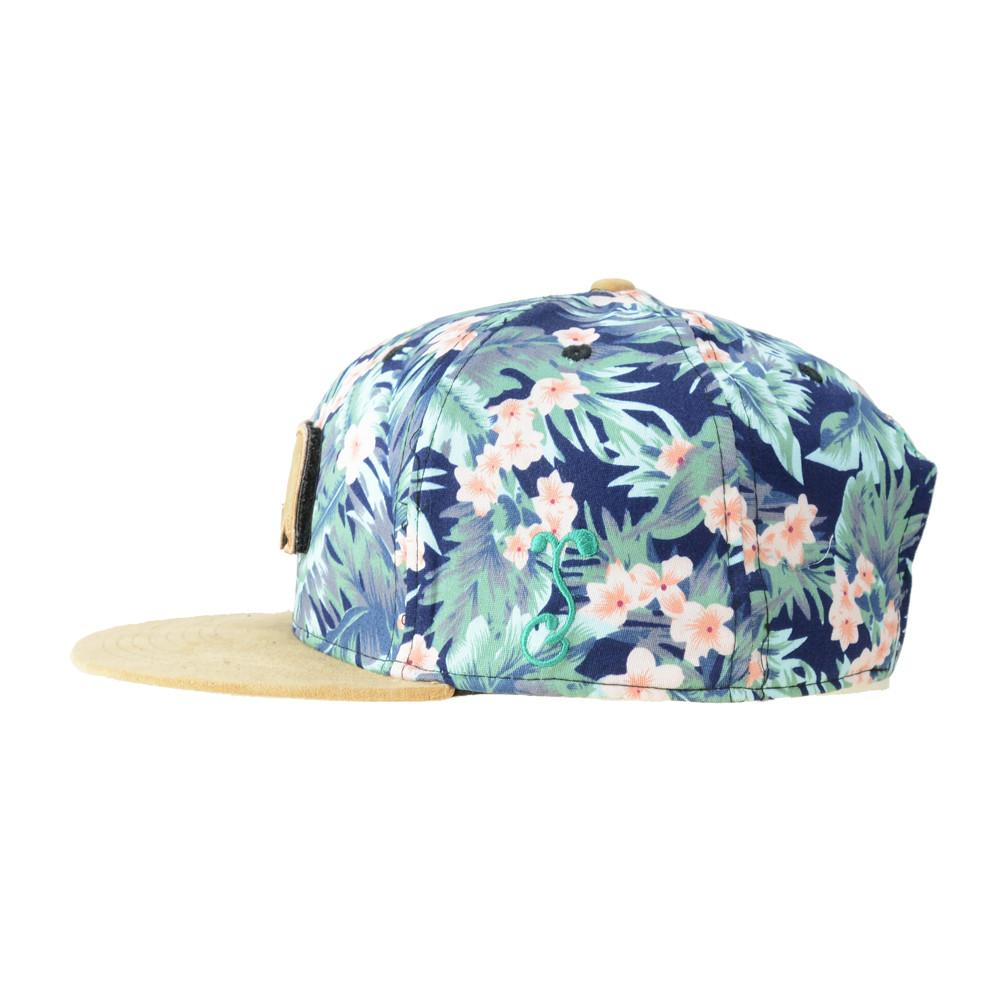 Removable Bear Water Flower Strapback - Grassroots California - 4