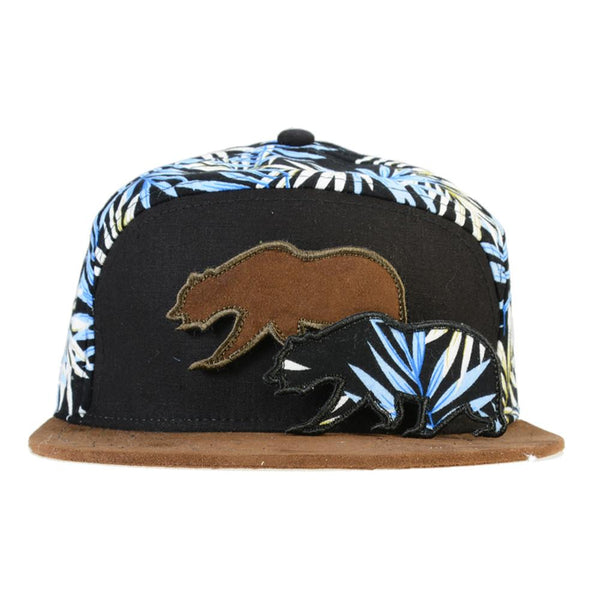 Removable Bear Hangroots Palm Tree 6 Panel Strapback - Grassroots California - 2