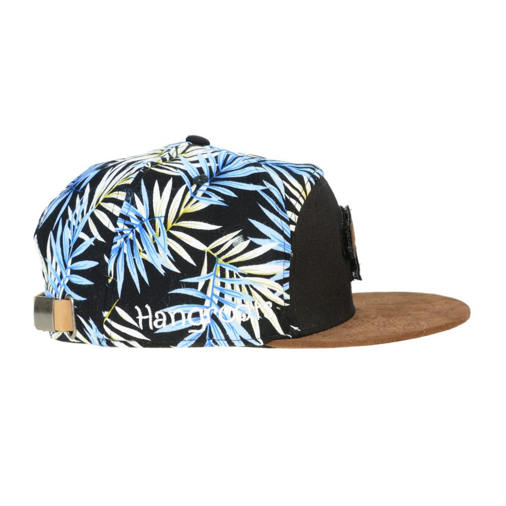 Removable Bear Hangroots Palm Tree 6 Panel Strapback - Grassroots California - 3
