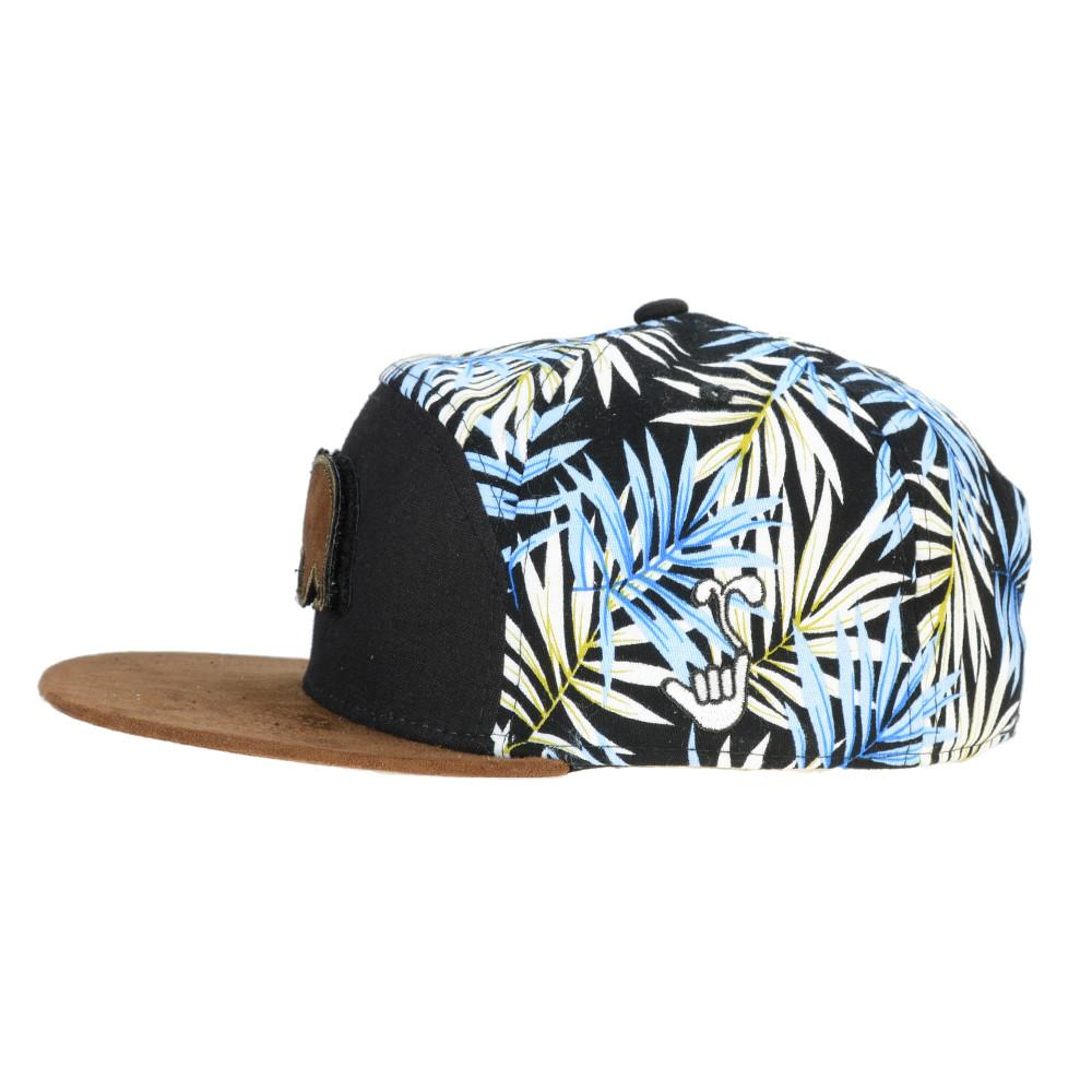 Removable Bear Hangroots Palm Tree 6 Panel Strapback - Grassroots California - 4