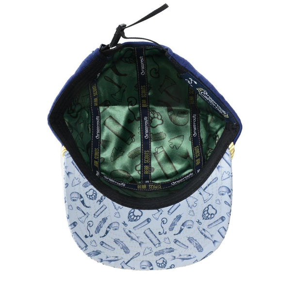 Bear Scout 5 Panel Clipback - Grassroots California - 5