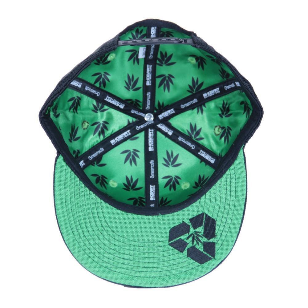 BHOgart Turtle Power Black Snapback - Grassroots California - 2
