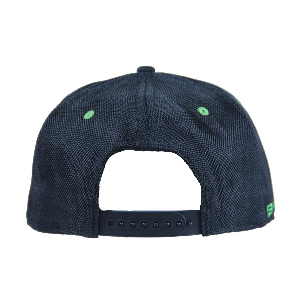 BHOgart Turtle Power Black Snapback - Grassroots California - 5
