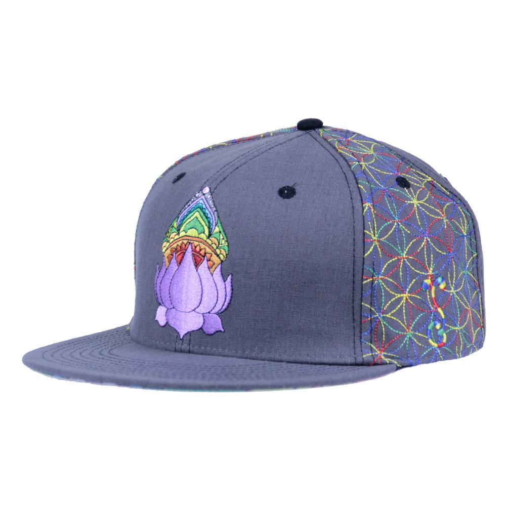 Blasting Rainbows Snapback - Grassroots California - 1