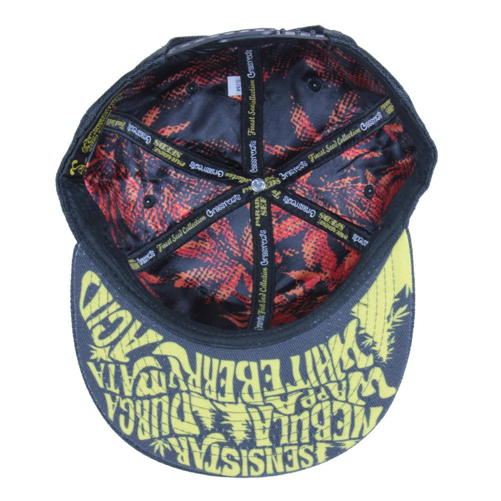 Paradise Seeds Black Gold Snapback - Grassroots California - 2