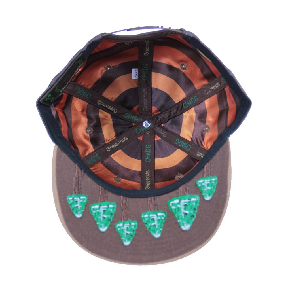 Chad G Log Snapback - Grassroots California - 2