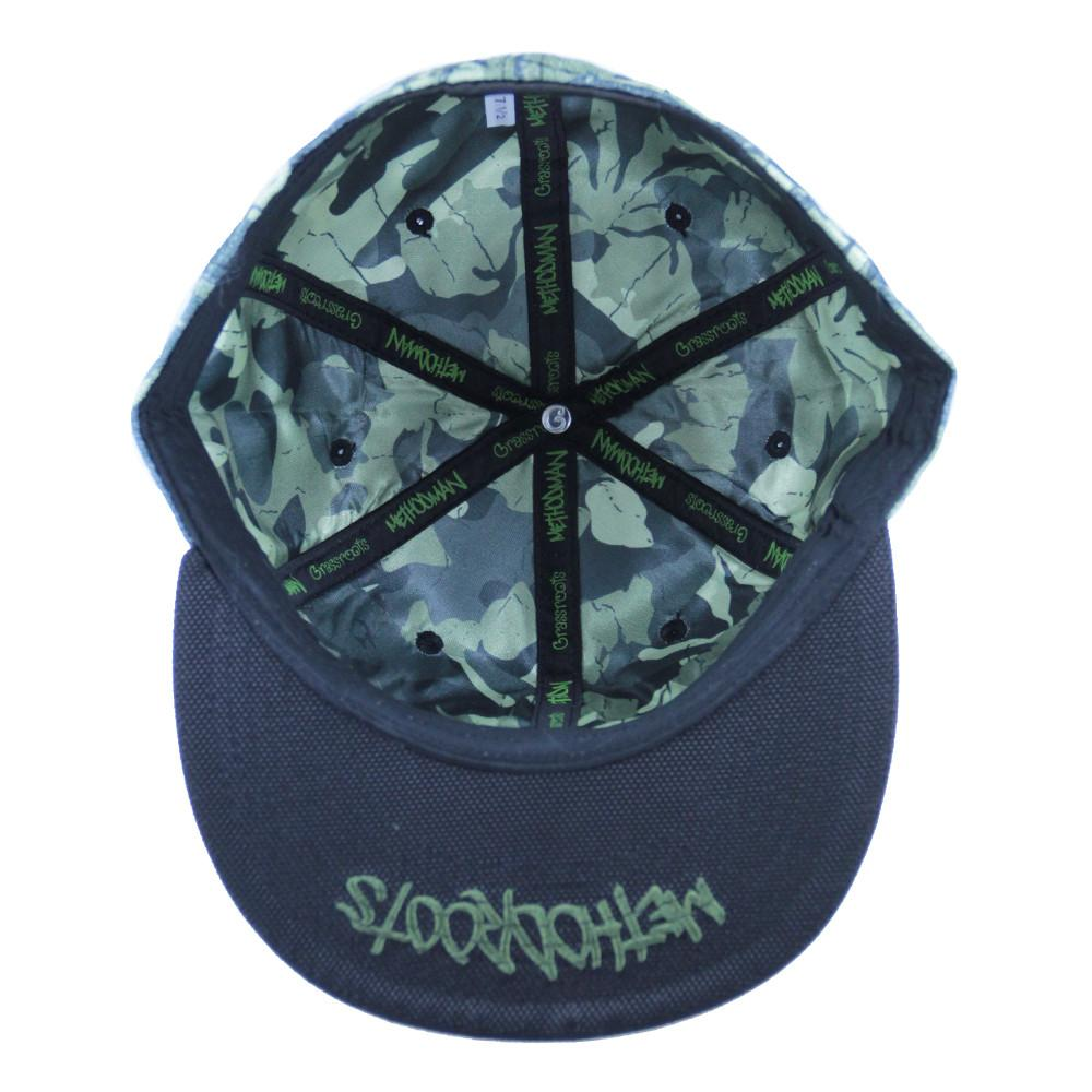 Method Man Camo Fitted - Grassroots California - 2