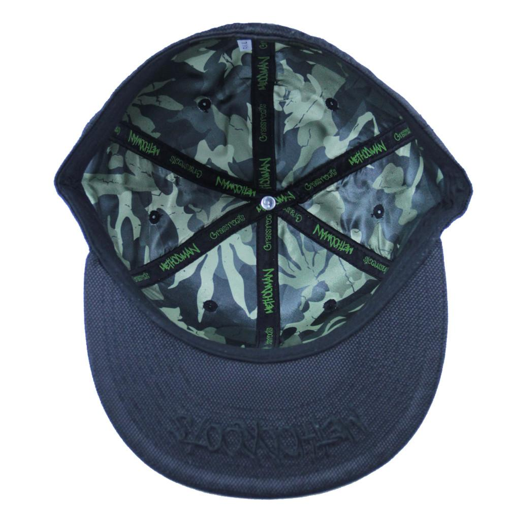 Method Man Black Ballistic Fitted - Grassroots California - 2