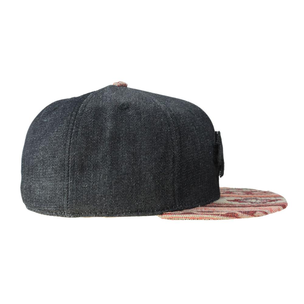 Removable Bear Mayan Andes Denim Fitted - Grassroots California - 3