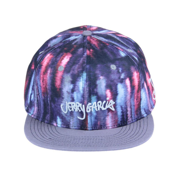 Jerry Garcia Watercolor Purple Snapback - Grassroots California - 1
