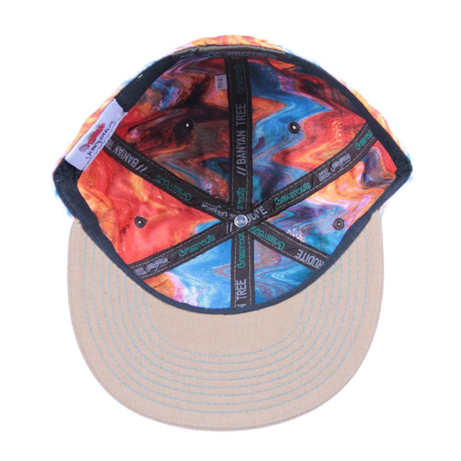 Jerry Garcia Watercolor Orange Fitted - Grassroots California - 2
