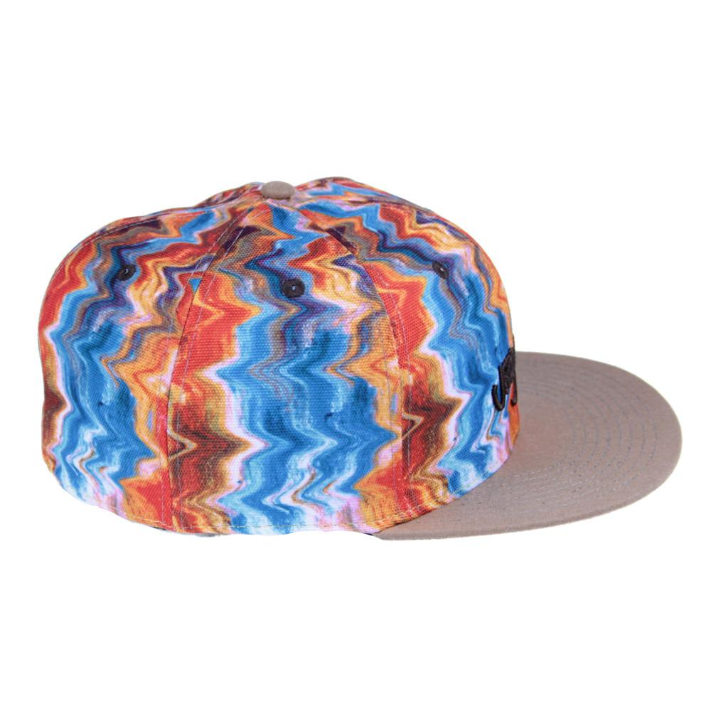 Jerry Garcia Watercolor Orange Fitted - Grassroots California - 3