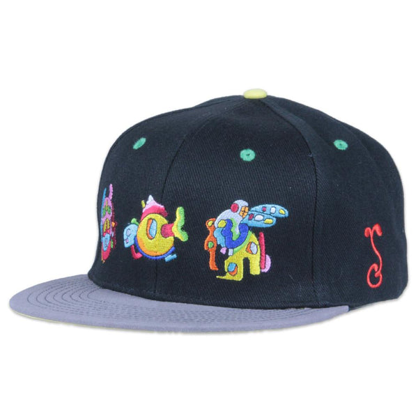 Jerry Garcia Space Container Party Snapback - Grassroots California - 1