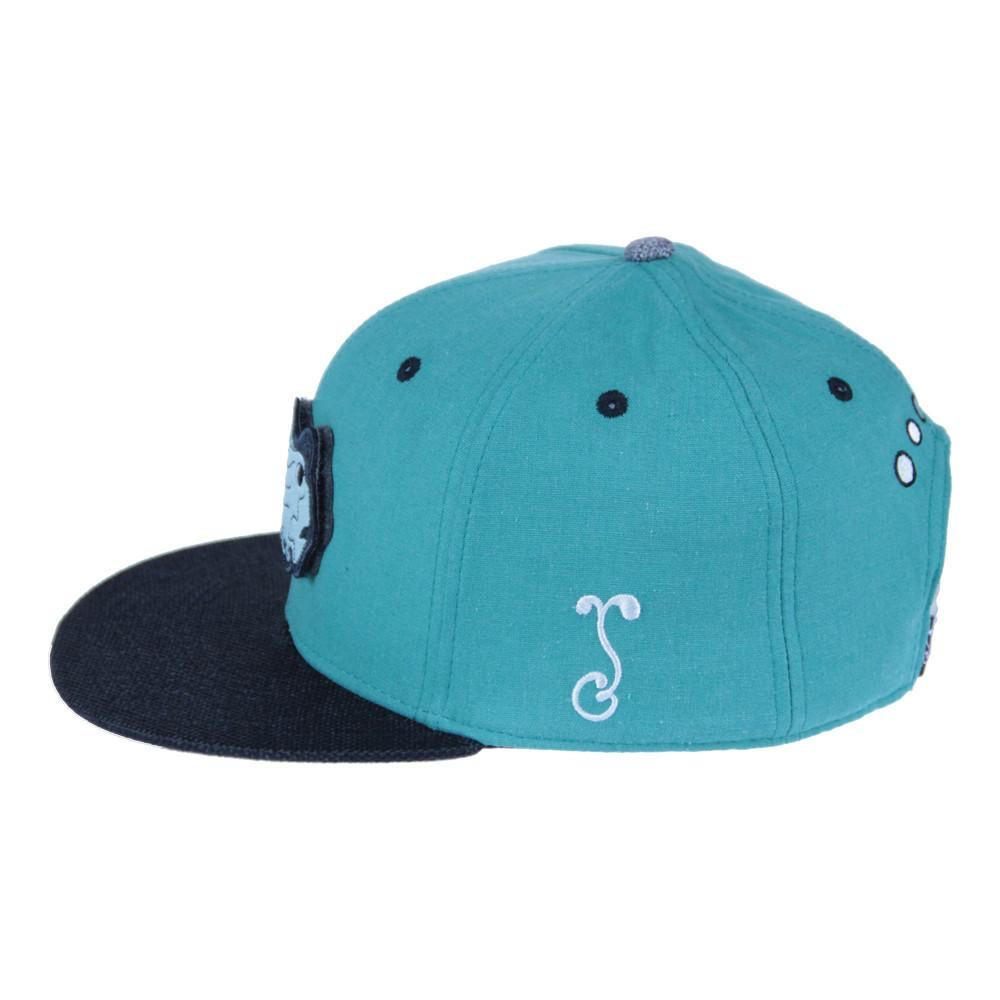 Jerry Garcia Removable Fish Teal Snapback - Grassroots California - 5