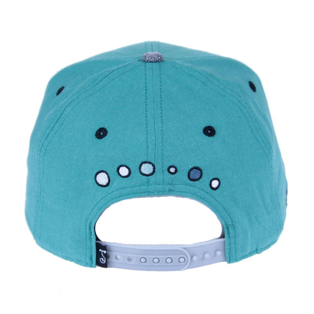 Jerry Garcia Removable Fish Teal Snapback - Grassroots California - 6