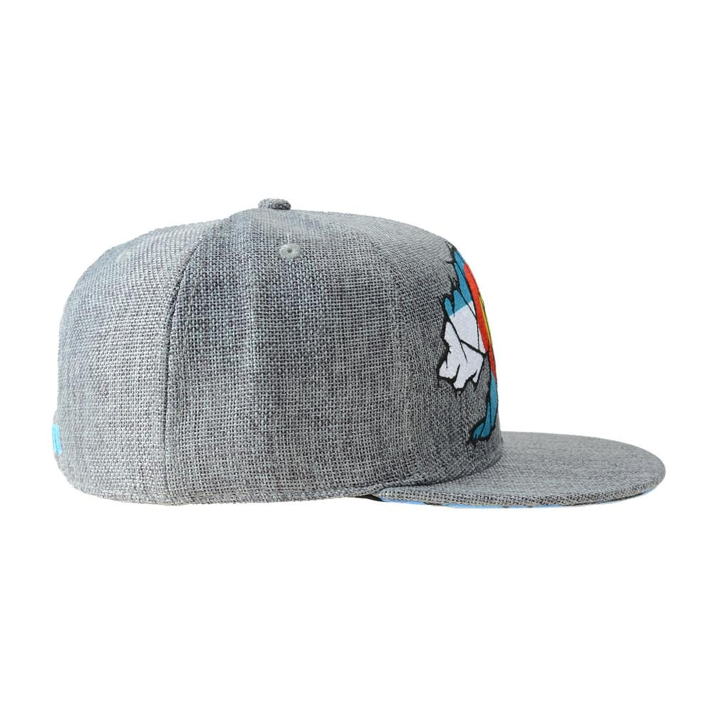 Colorado Mosaic Bear Gray Fitted - Grassroots California - 2