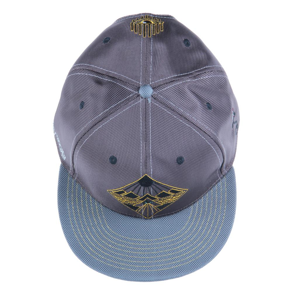 Eye Beams Brown Gray Snapback - Grassroots California - 6